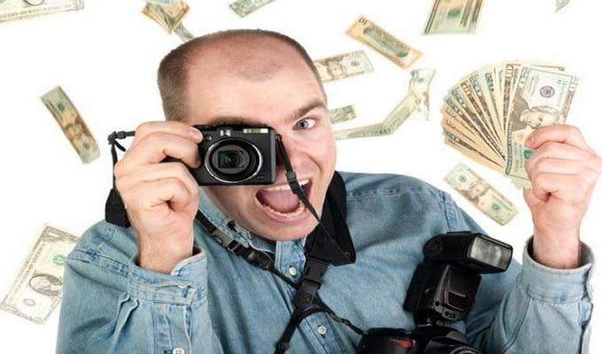 Заработок на фотографие