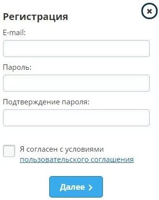 Регистрация на сайте ВКтаргет