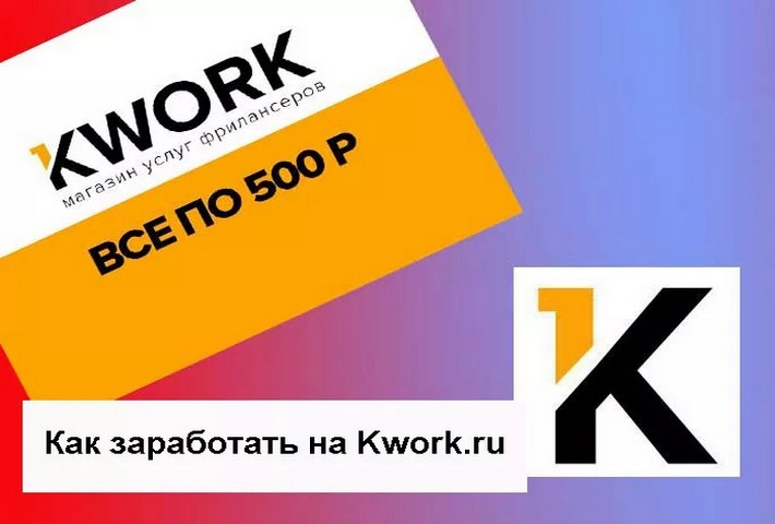 Как заработать на бирже Kwork ru