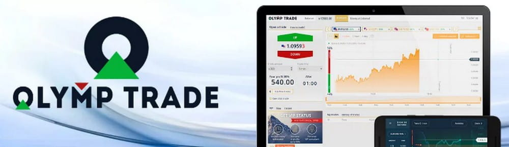 Olymptrade - брокер для заработка денег на опционах